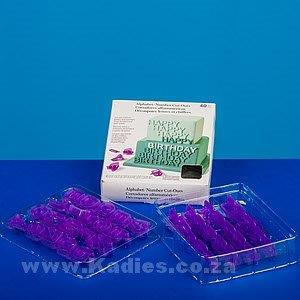 Alphabet/Number Cutters 40pc Shiraz