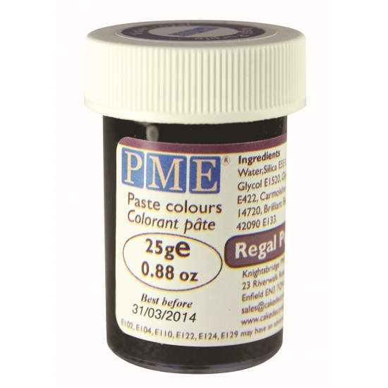 Paste Colour 25g PME Regal Purple