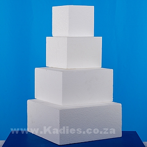 "Cake Dummies 15CM Deep 6"" TO 16"" Square"