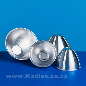 Pudding Moulds Ass sizes - Aluminium
