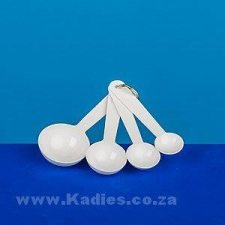 Measure Spoons Metric 4pc