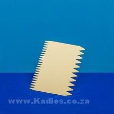 Plastic Comb Scraper
