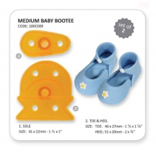 Medium Baby Bootee set 2