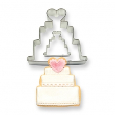 Cookie & Cake Wedding Cake Set 2 Cut