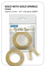 PME Gold/Gold Sparkle Tape