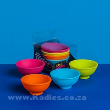 Silicone Mini Pinch Bowl Set 4pc PJM