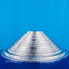 "CAKE BOARDS THICK 6""-16"" SILVER ROUND EACH"