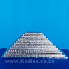 "CAKE BOARDS THICK 6""-16"" SILVER SQUARE each"