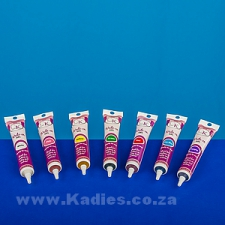 Piping Gel Assorted Colors