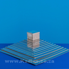 """Thin Cake Boards Silver Square 3"""" to 16"""" each"""