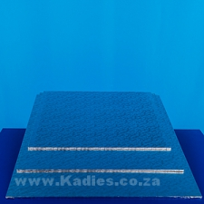 Masonite Cake Boards Silver Rectangular Assorted sizes each