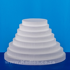 "CAKE DUMMIES 2.5CM DEEP 3"" TO 16"" ROUND"