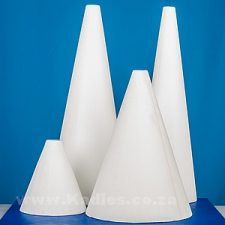 CAKE DUMMIES POLY CONES ASSORTED SIZES