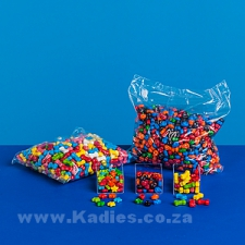 Neon Stars Coloured Candy 30g, 250g, 1kg