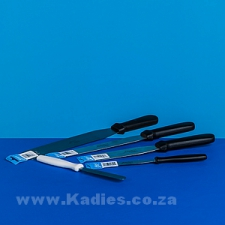 Straight Spatula with Plastic Handle 10cm to 25cm